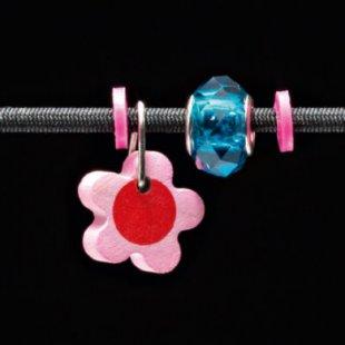 Selecta Schmuckanhänger Blume rosa - Gr.ab 3 Jahre