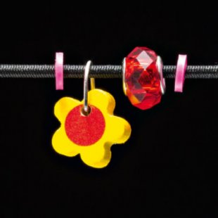 Selecta Schmuckanhänger Blume gelb - Gr.ab 3 Jahre