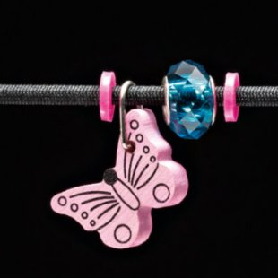 Selecta Schmuckanhänger Schmetterling rosa - Gr.ab 3 Jahre