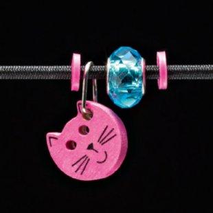 Selecta Schmuckanhänger Katze pink - Gr.ab 3 Jahre