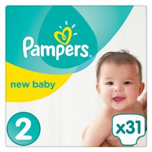Pampers Windeln Premium Protection New Baby Gr.2 Mini 3-6kg Tragepack 31 Stück
