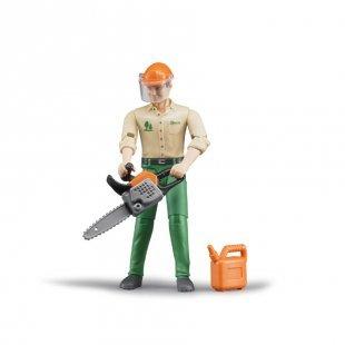 bruder® Zubehör - Forstarbeiter mit Zubehör 60030