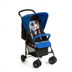 hauck Sportwagen Sport Mickey Geo Blue - blau