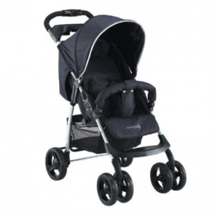 knorr-baby Sportwagen V-Easy-Fold Happy Colour schwarz