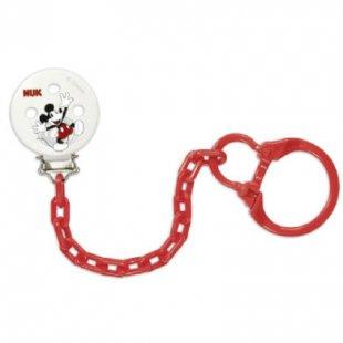 NUK Saugerkette Disney Mickey mit Clip