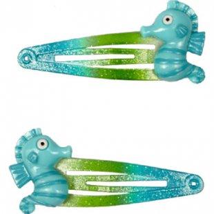 Coppenrath Haarclips Seepferdchen Meja Meergrün