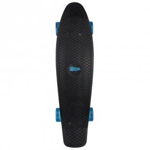 AUTHENTIC SPORTS Skateboard fun, No Rules, schwarz-transparent