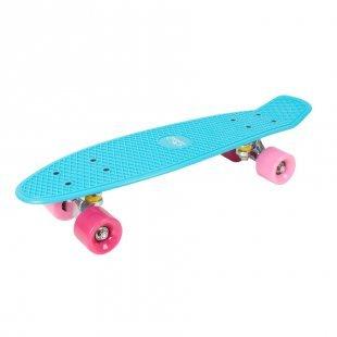 HUDORA® Skate Wonders Skateboard Retro, türkis