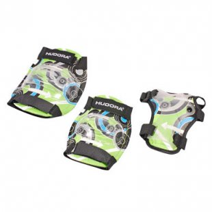 Hudora ® Protektoren Set Green Style, Gr. S 83340