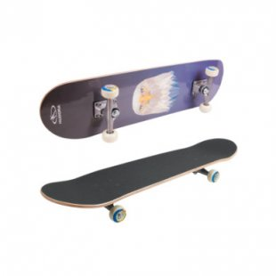 Hudora ® Skateboard Eagle Instinct ABEC 1