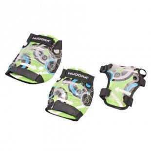 HUDORA® Protektoren Set Green Style, Gr. S 83340