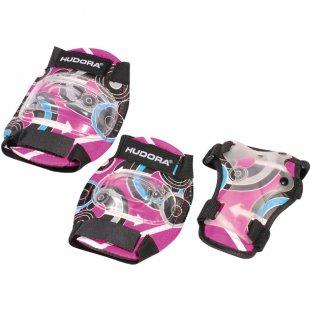 HUDORA® Protektorenset Pink Style, Gr. M 83344