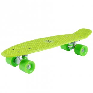 HUDORA® Skateboard Retro Lemon Green 12136
