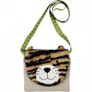Coppenrath Brustbeutel Katze (Plüsch) - Lustige Tierparade - braun