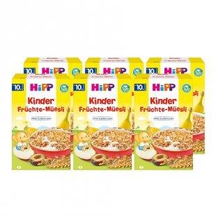 HiPP Bio Kinder Früchte-Müsli 6 x 200 g ab dem 10. Monat