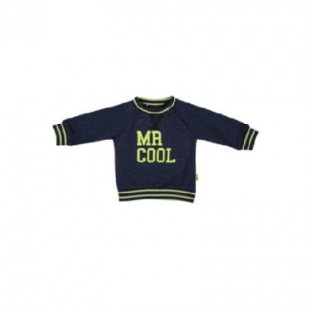 b.e.s.s Sweatshirt Mr. Cool blau - Gr.50 - Damen