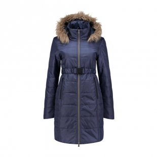 LOVE2WAIT Umstandsmantel Double Zipper Padded Navy
