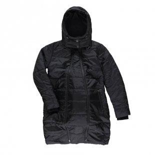 LOVE2WAIT Umstandsmantel Double Zipper Black