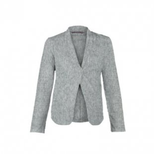 QUEEN MUM Umstands Sweat Blazer OLGA grey - grau - Gr.XL - Damen