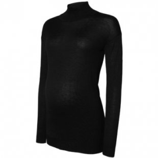 mama licious ML MY KNIT HIGHNECK - schwarz - Damen
