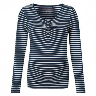 Esprit Stillshirt night blue - blau - Gr.M - Damen