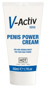 """V-Activ Penis Power Cream´´, mit ätherischen Extrakten"