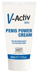 """""""V-Activ Penis Power Cream´´, mit ätherischen Extrakten"""