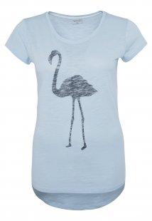 T-Shirt mit Flamingo Druck