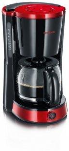 KA 4492 Kaffeeautomat schwarz/rot/metallic