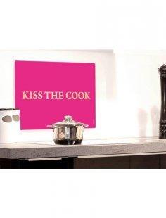 Küchenrückwand »pop«, Pink Kiss, 59x41 cm