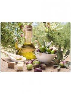 Spritzschutz »pop«, Olivenöl, 59x41 cm
