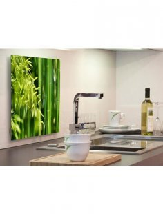 Küchenrückwand »pop«, Bambus, 59x41 cm