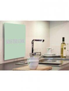 Küchenrückwand »pop«, Pistacchio Kiss, 59x41 cm