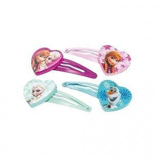 Disney Die Eiskönigin - Haarklippchen, 4-teilig