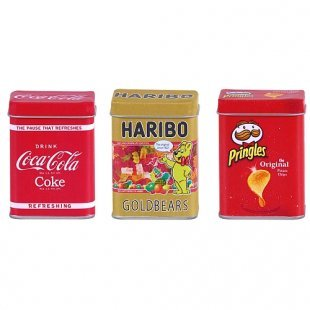 Tanner - Coca Cola, Haribo, Pringles Dosen-Set