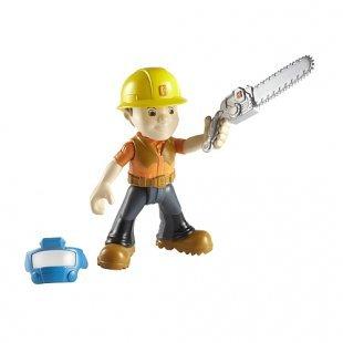 Bob der Baumeister - Kleine Metall-Figur: Holzfäller Bob