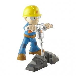 Bob der Baumeister - Kleine Metall-Figur: Presslufthammer Bob