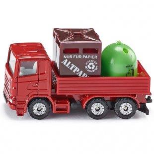 SIKU Super - 0828: Recycling-Transporter