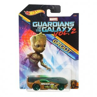 Hot Wheels - Guardians of the Galaxy: Marvel Limited Basic Car, sortiert (DWD72)