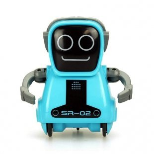 Silverlit - Pokitbot, blau, eckig