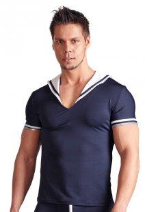 Shirt im Matronsen-Look, mit Streifen an den Ärmeln