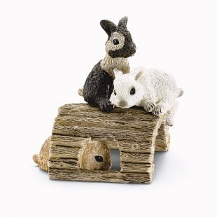 Schleich - 13748 Kaninchenjungen spielend