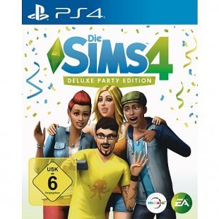 Sony PS4 - Die Sims; Deluxe Party Edition