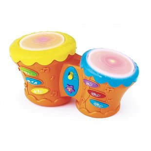BRUIN - Bongo Trommel mit Sound
