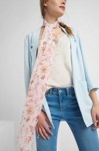Halstuch mit Blumen-Muster
