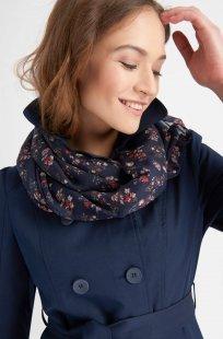 Loop-Schal mit Flower-Print