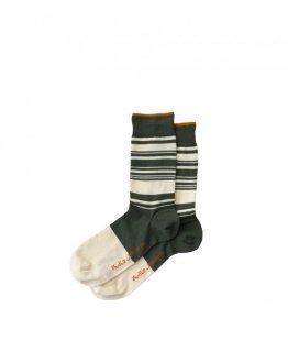 Nudie Jeans Olsson Stripes Socks Mirage