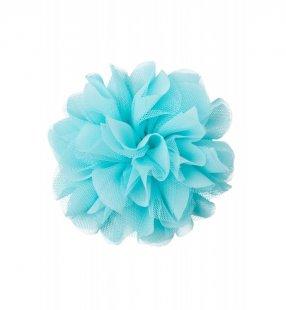Ansteckblüte, soft türkis