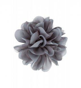 Ansteckblüte, grau
