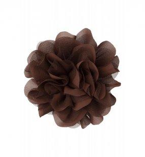 Ansteckblüte, maron braun